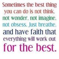 Faith in God.
