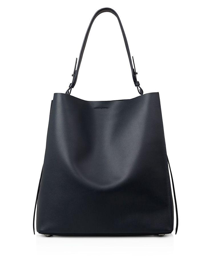 ALLSAINTS ALLSAINTS Paradise North/South Tote. #allsaints #bags #shoulder bags #hand bags #leather #tote #