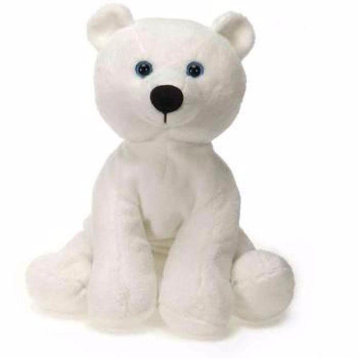 "Wholesale Toys Lil' Buddies - 9"" B/B Sitting Polar Bear - 24 UNITS Pack"