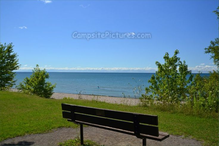 Darlington Provincial Park, Lakeside Cliffside, Camping in Ontario Parks