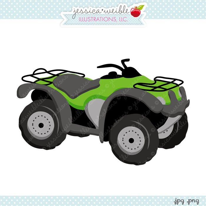 Muddy Tractor Clip Art : Best images about atv clips on pinterest icon moto