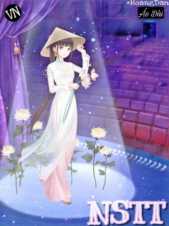 Ngôi Sao Thời Trang 360Mobi(My Miracle Nikki) Picture made by Hoang Dan Pham (Facebook) Áo Dài Việt Nam