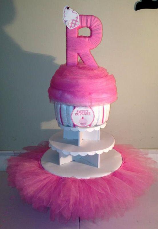Baby Shower Cupcake Stand