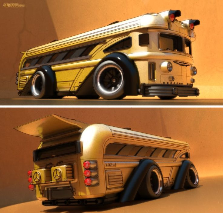 Ridikulouslee Kronic Kustom Bus No. 2! by aconnoll on DeviantArt