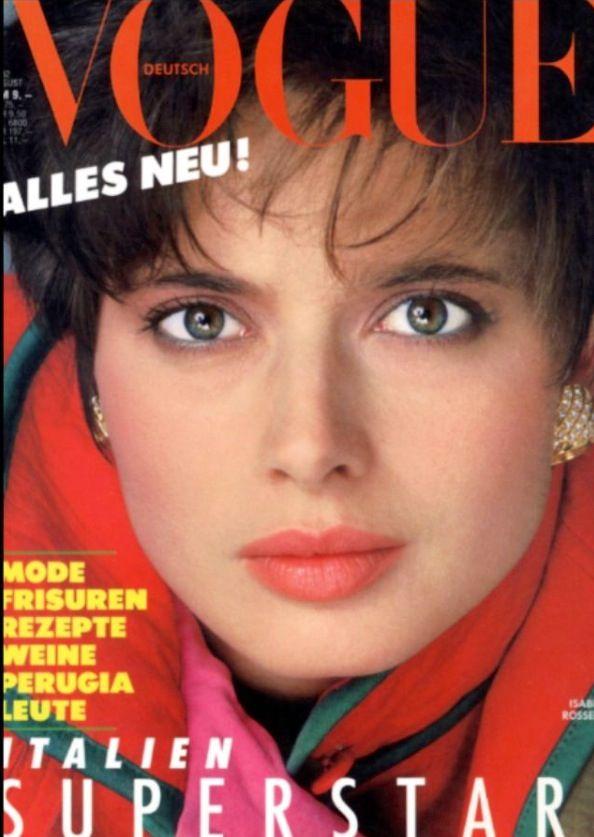 Isabella Rossellini Vogue | www.pixshark.com - Images ...