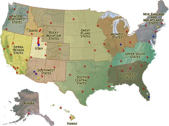 Best Lds Temples Map Ideas On Pinterest Lds Temples Wedding - Can i see a map of the united states