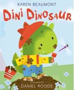 Dirty Dini Dinosaur is covered with mud from head to toe. But when he tries to take a bath . . .   Uh-oh!  Silly Dini Dinosaur, what are you up to now?  A bubbly bathtime and bedtime book for toddlers and dinosaur fans of all ages.