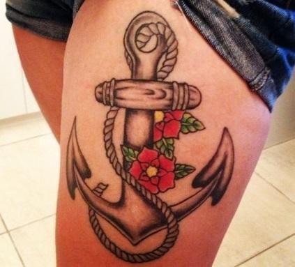 Cuál es el significado de los tatuajes de anclas - unComo