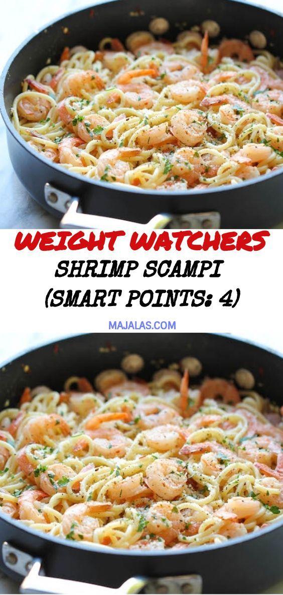 Shrimp Scampi (Smart Points: 4) – #Points #Scampi #Shrimp #Smart