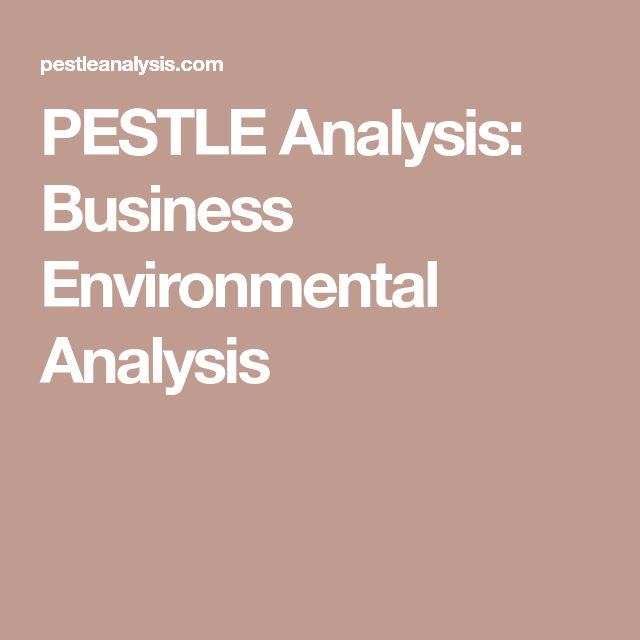 The 25+ best Pestle analysis ideas on Pinterest Swot analysis - sample pest analysis