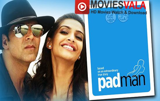 Spread the love Padman Hindi Movie 2018 Watch Online Full Free. WatchPadman 2018 Hindi Movie Watch Online Full HD 720p Free Download Dvdrip.Padman is a latest hindi comedy drama movie, directed byR. Balki.Akshay Kumar, Sonam Kapoor and Radhika Apte are playing lead role in this movie.Padman Movie is scheduled to release on 26 january 2018 …