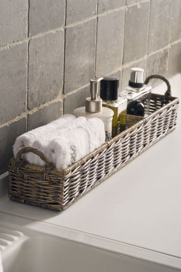 Best Spa Master Bathroom Ideas On Pinterest Modern Bathrooms - Bathroom basket ideas for small bathroom ideas