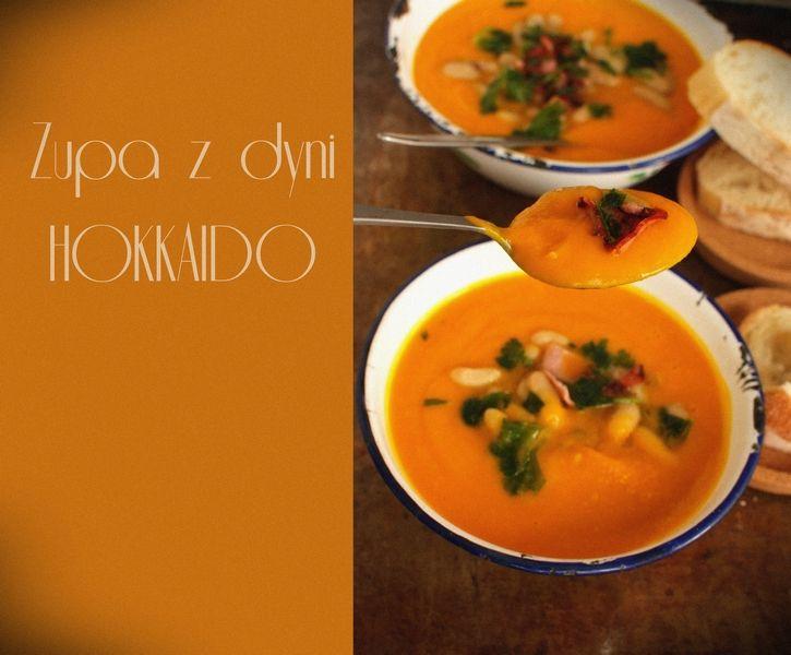 SMYKWKUCHNI: Zupa z pieczonej dyni Hokkaido. Rozgrzewająca zupa...