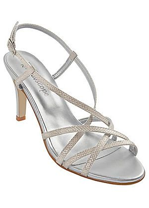 Italian Glitter Strappy Sandals #kaleidoscope #races