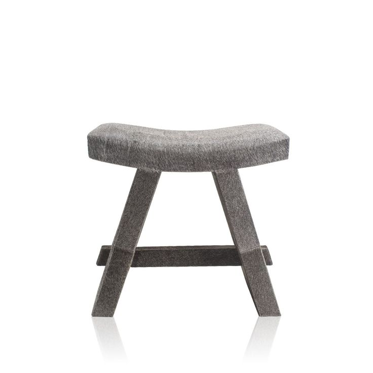 Fleecy Hair On Stool Grey - Brought to you is a sophisticated stool with an archaic touch. Perfect for your classy living, this unique stool has a flawless covering of genuine leather. Bring home this piece of perfectly designed furniture and add quality to your luxe lifestyle.#INVHome #LuxuryHomeDecor #InteriorDesign #RoomDecor #Decorations #Decor #INVHomeLinen #Tableware #Spa #Gifts #Furniture #LuxuryHomes #Furniture #Stools
