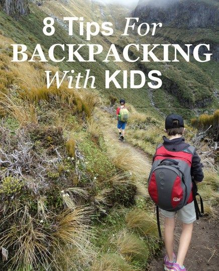 Follow these tips to make backpacking with kids fun!