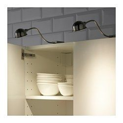 IKEA - FORMAT, LED cabinet light, , Provides a focused light that is good for lighting smaller areas.Uses LEDs, which consume up to 85% less energy and last 20 times longer than incandescent bulbs.