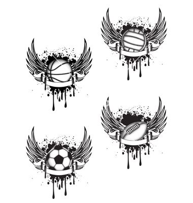 Basketball tattoo idea