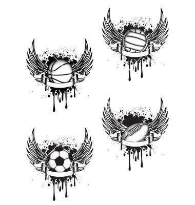 Basketball tattoo idea