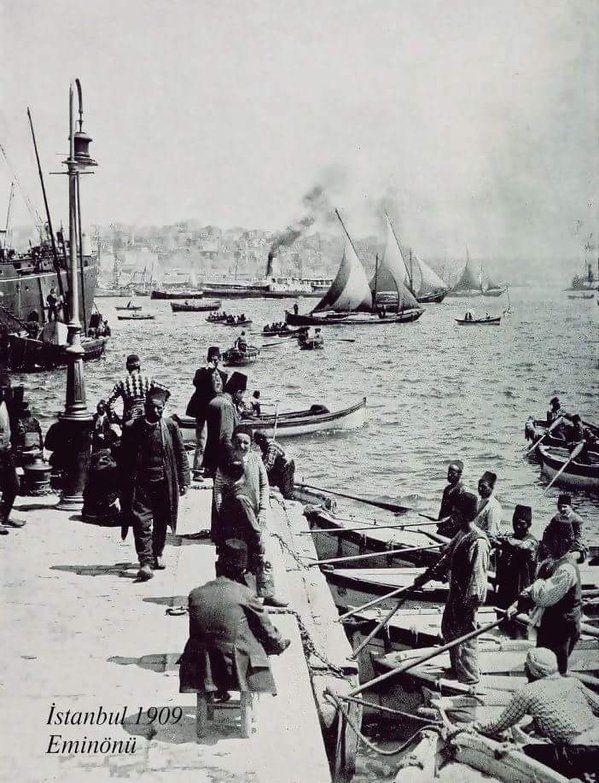 ✿ ❤ Bir Zamanlar İSTANBUL, Eminönü (1909)
