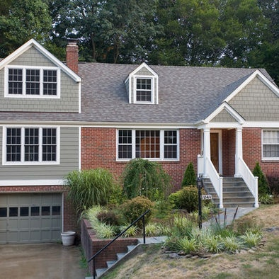 Exterior Addition To Red Brick House Design, Pictures, Remodel, Decor and Ideas