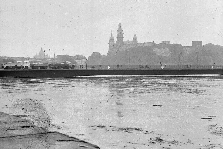 Most Dębnicki, Kraków - 1970 rok, stare zdjęcia