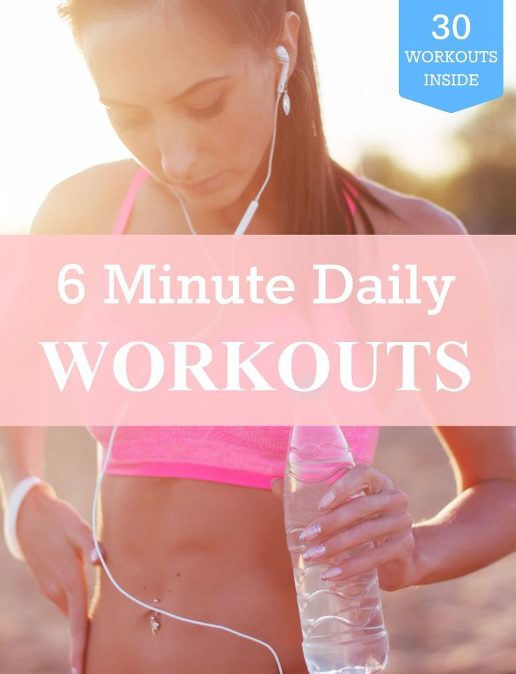 Free printable body weight 6-minute morning workout to burn calories and lose fat. Morning workout before breakfast is proven to have positive impacts on your metabolism, energy and overall health.