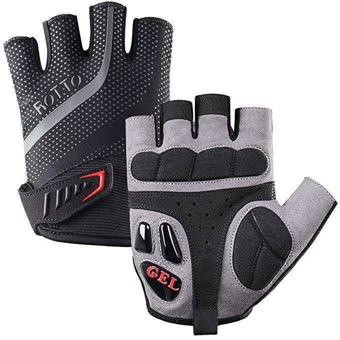 Rotto Cycling Gloves Half Full Finger Mountain Bike Gloves For Men