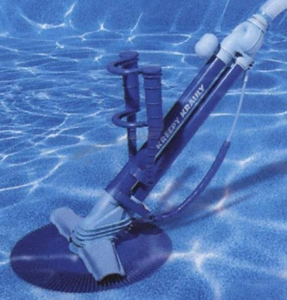 The world's first automatic pool cleaning unit, the Kreepy Krauly, was invented by South African Ferdinand Chauvier in 1974.