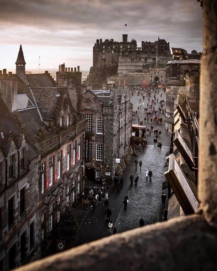 Edinburgh United Kingdom Scotland Tourist Attractions Edinburgh Photography Edinburgh