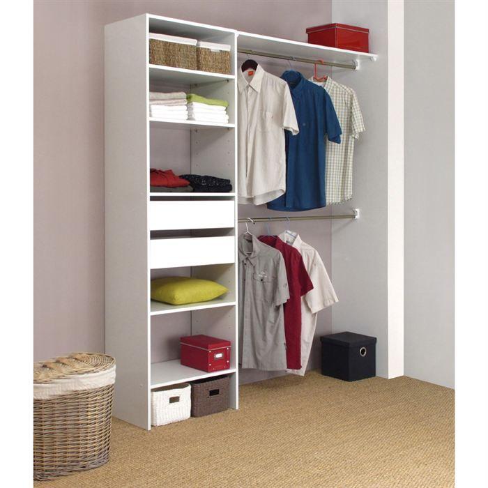 beautiful comment amenager un placard en dressing 4. Black Bedroom Furniture Sets. Home Design Ideas