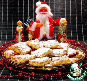 """Рецепт: Печенье """"Хрустящее"""" из хлопьев с цукатами"""