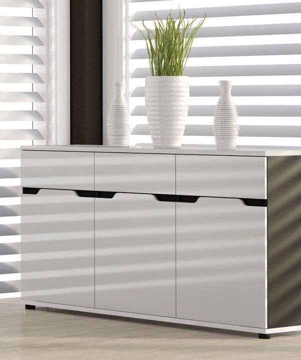 1000 ideen zu sideboard schwarz hochglanz auf pinterest. Black Bedroom Furniture Sets. Home Design Ideas