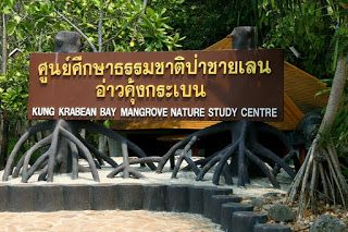 ของโบราณ: Mangrove Nature Research Center Kung Krabaen Beach...
