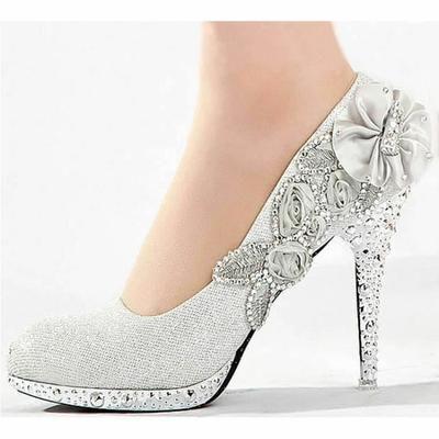 b800a4b616 Chaussures à talon escarpin soirée,ville,brillante argent , Achat / Vente  escarpin ...