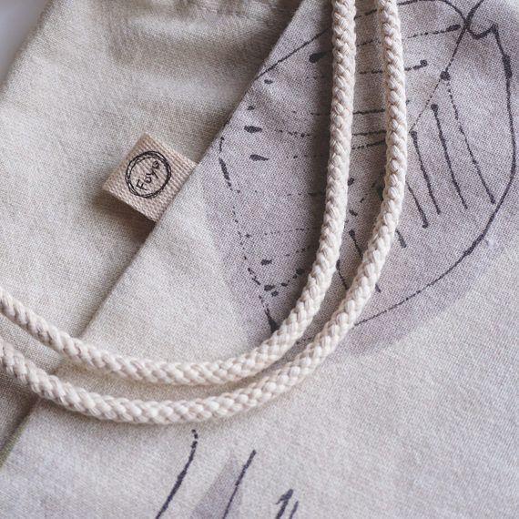 Bolsa de estera de yoga Pilates yoga bolso portador / algodón
