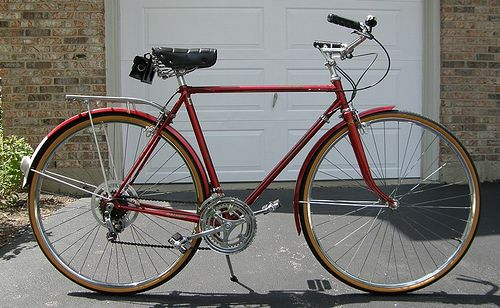 1974 Raleigh Sprite (Carmine Red) | Flickr - Photo Sharing!
