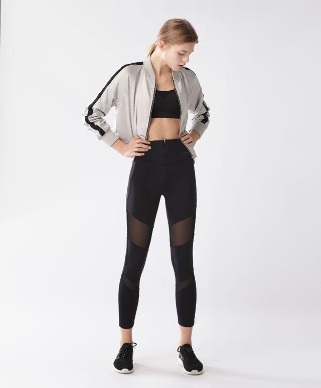 Veste bomber - Vestes et Sweat-shirts - SPORT | Oysho