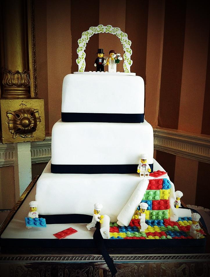 Lego Wedding Cake. We already have the topper!! Yayy!!!