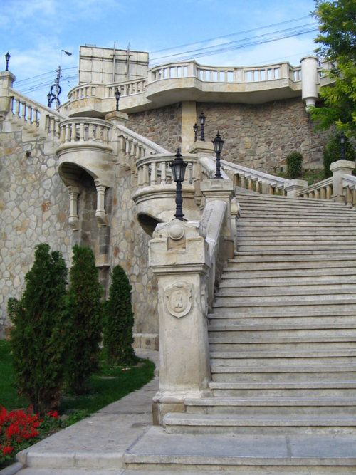 "Iasi, Romania. Loved the stairs. ""the yellow hole"" i miss you Romania. My home away from home!"
