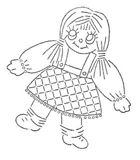 rag dolls printable coloring pages - photo#12