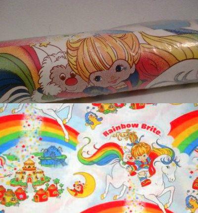 Best Vintage Rainbow Brite Unopened 80S Wallpaper Vintage I 640 x 480