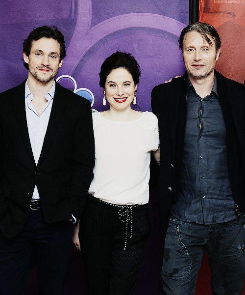 Hugh Dancy, Caroline Dhavernas, & Mads Mikkelsen