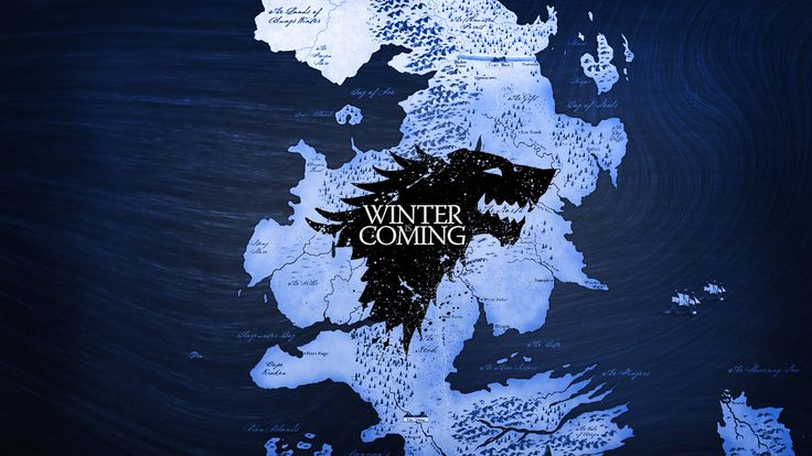 winter is coming game of thrones 9019WFZGOT