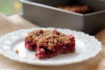 "Vegan Cranberry Crumble Bars | ""Nom-Nom"" VEGAN style! | Pinterest ..."