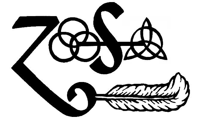 Led Zeppelin Symbols Tattoo Idea. Ooooo I like how all the symbols are combined :)