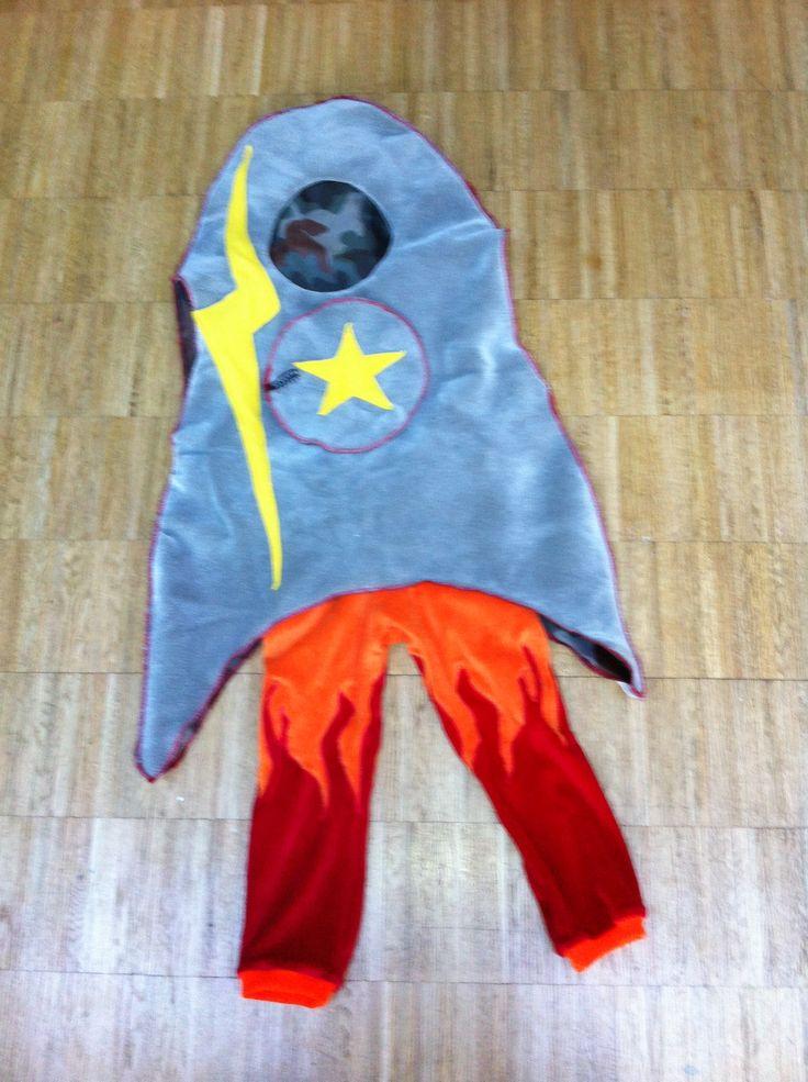Raket kostuum voor kwint Costume rocket