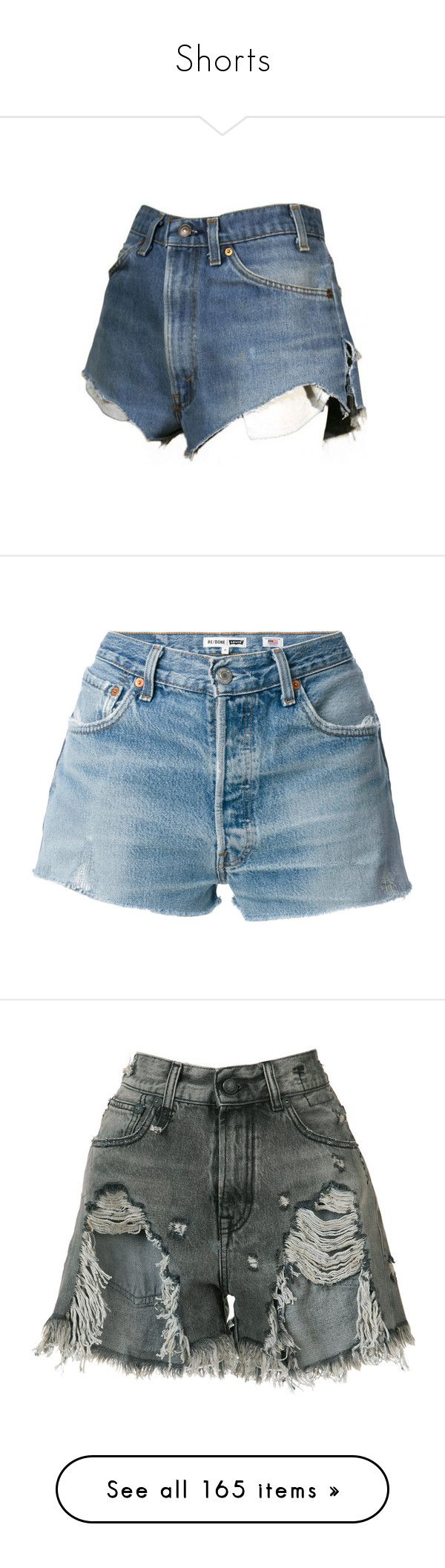 """Shorts"" by styledbyro ❤ liked on Polyvore featuring shorts, bottoms, pants, daisy print shorts, short shorts, daisy shorts, checkerboard shorts, checkered shorts, blue and blue shorts"
