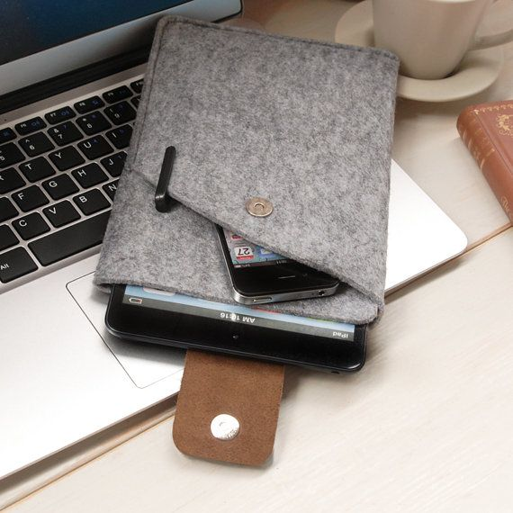 ipad mini case *Love the pocket for the phone in the front. But I don't think it opens up, have to remove the iPad