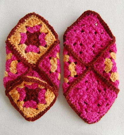 #28 Granny Square Coat, Vogue Knitting Crochet 2012 - YouTube
